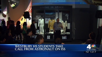 Students Take Call from Astronaut on ISS