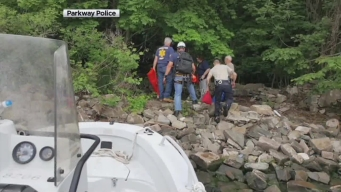 Injured Hiker Rescued from NJ Waterfall