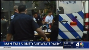 Straphanger Hurt After Falling on Subway Tracks: FDNY