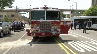 14 Injured When Fire Truck Slams into MTA Bus: FDNY