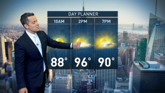 Midday Forecast for Saturday, July 23rd