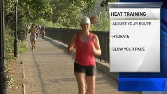 Safe Training During a Heat Wave