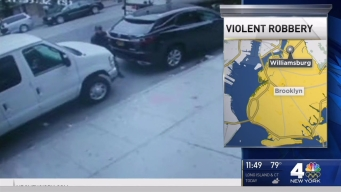 Police Search for 2 Men in Violent Brooklyn Robbery