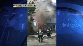 Cop Catches Mom, Kids as They Escape NJ House Fire