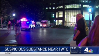 Suspicious Powder Found Near World Trade Center