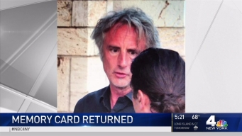 Singer Reunited With Camera Card Found on NYC Street