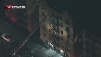Apartment Fire Injures 7 in Queens