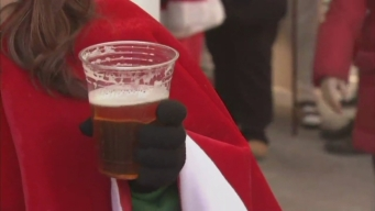 SantaCon Brings Holiday Cheer, Jeers in Manhattan