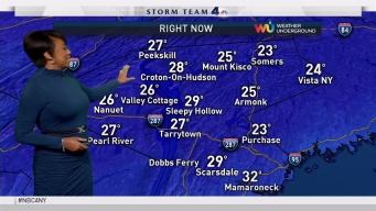 Early Evening Forecast for Tuesday December 20, 2016