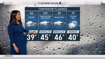 Forecast for Thursday, December 29