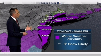 Late Afternoon Forecast: Thursday, Jan. 5