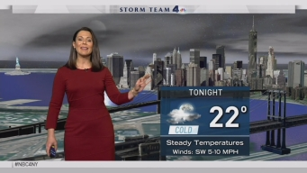 Early Evening Forecast for Monday January 9, 2017