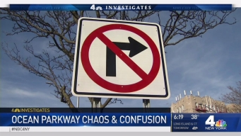 Traffic Chaos, Confusion on Brooklyn's Ocean Parkway