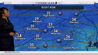 Early Evening Forecast for Monday January 16, 2017