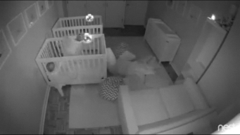 Caught on Camera: Toddler Twins Party All Night Long