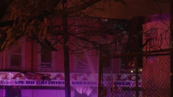 Raging Fire Destroys Newark Apartments, Displaces 3 Families