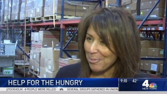 Woman Helping the Hungry Knows Experience Firsthand