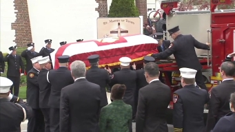 Raw Footage: Family Mourns FDNY Firefighter