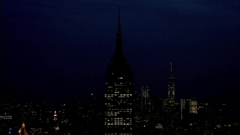 Empire State Building Goes Dark for Manchester