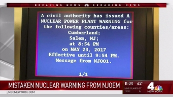 Nuclear Power Plant Warning Sent Out by Mistake