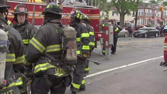 Man Carries 7-Month-Old Daughter Down Fire Escape to Escape Blaze