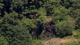 Chopper 4 Over Cliff -Fall Response
