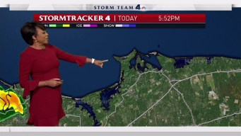Early Evening forecast for Wednesday, August 2