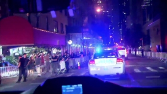 Watch: NYPD Tails Trump Motorcade Through NYC