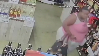 Woman Steals Liquor Bottles, Stuffs Them in Unusual Places