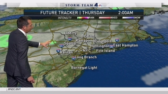 Early Evening Forecast for Tuesday October 3