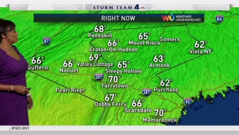 Early Evening Forecast for Thursday October 19