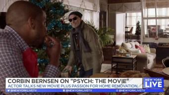 """Talking """"Psych"""" With Corbin Bernsen"""