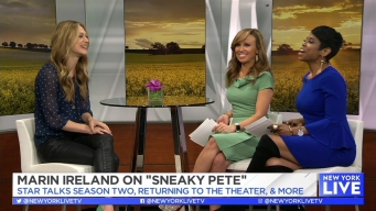 Marin Ireland on 'Sneaky Pete' New Season