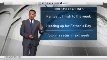 Forecast for Thursday, June 14