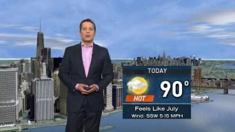 Forecast for Sunday, July 17
