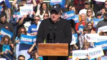 Michael Moore Endorses Bernie Sanders at NYC Rally