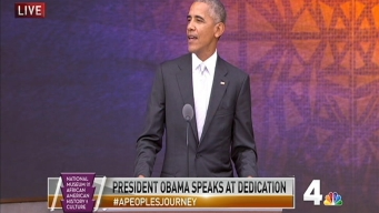 Obama Opens National Museum of African American History