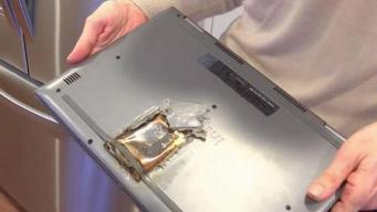 Warning After NJ Girl's Laptop Explodes While Charging