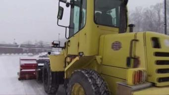 Westchester Drivers Try to Navigate Icy Roads