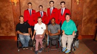 U.S. Open Athletes Break for Broadway