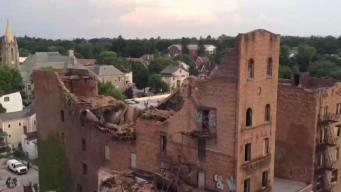 Woman Stuck in Rubble After Poughkeepsie Collapse