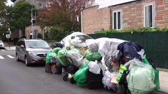 Womans Pile of Possessions Sparks Headaches in Brooklyn