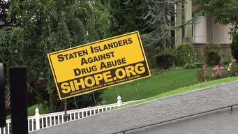 Yard Signs Aim to Help Opioid Addicts on Staten Island