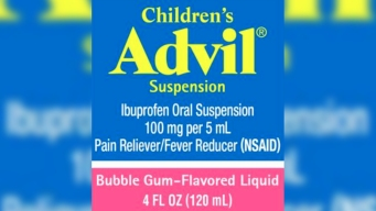 Children's Advil Recalled Over Label Mix-Up, Overdose Fears