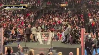 Fan Tackles Bret 'The Hitman' Hart During WWE Ceremony