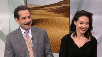 "Tony Shalhoub & Katrina Lenk on ""The Band's Visit"""