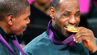 WATCH: LeBron, Durant & Kobe After U.S. Wins Gold