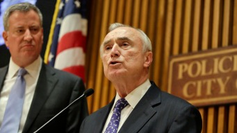 NYPD Commissioner Bill Bratton Stepping Down