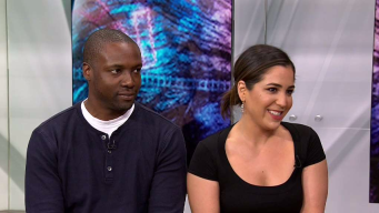 Rob Brown and Audrey Esparza on 'Blindspot'