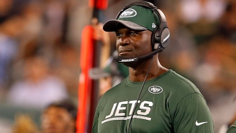 Jets Coach Bowles Rejoins Team After Being Hospitalized